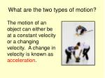 what are the two types of motion1
