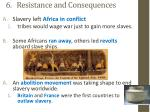 6 resistance and consequences