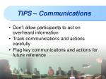 tips communications1