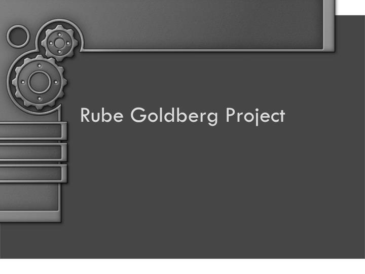 rube goldberg project n.