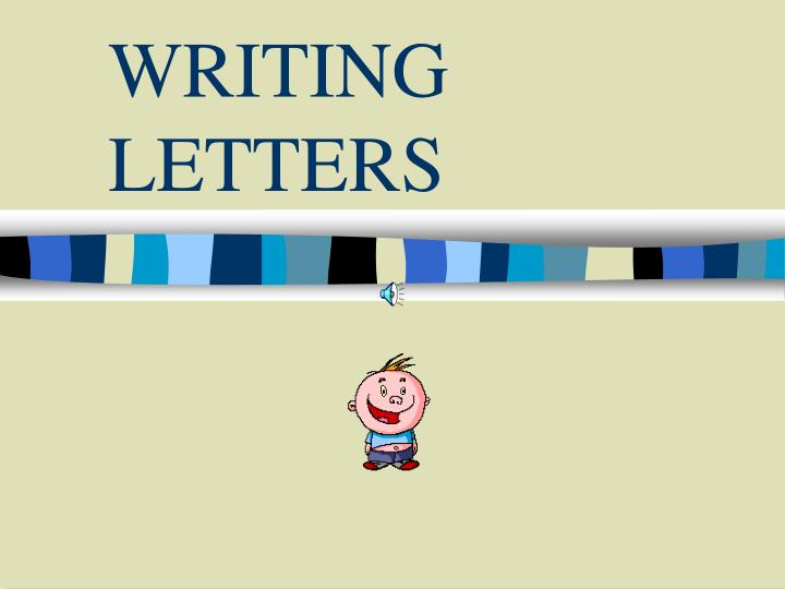writing letters n.