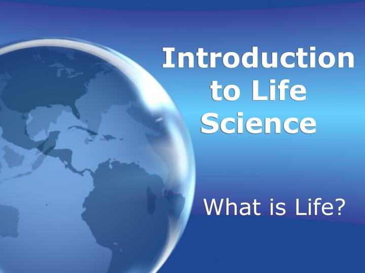 introduction to life science n.