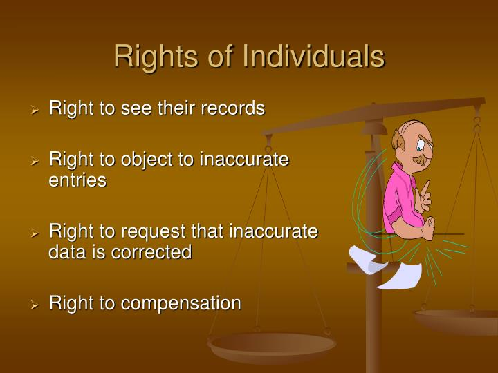 Rights of Individuals