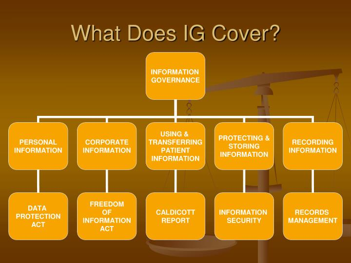 What Does IG Cover?