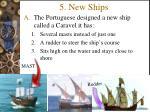 5 new ships