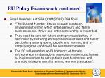 eu policy framework continued1