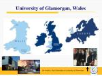 university of glamorgan wales