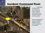 incident command post