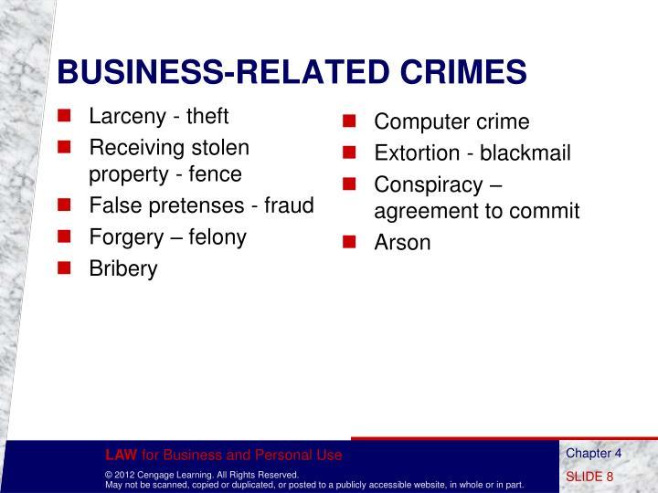 Larceny - theft