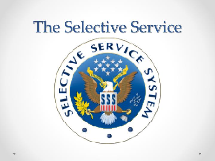 the selective service n.
