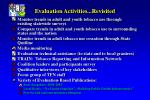 evaluation activities revisited