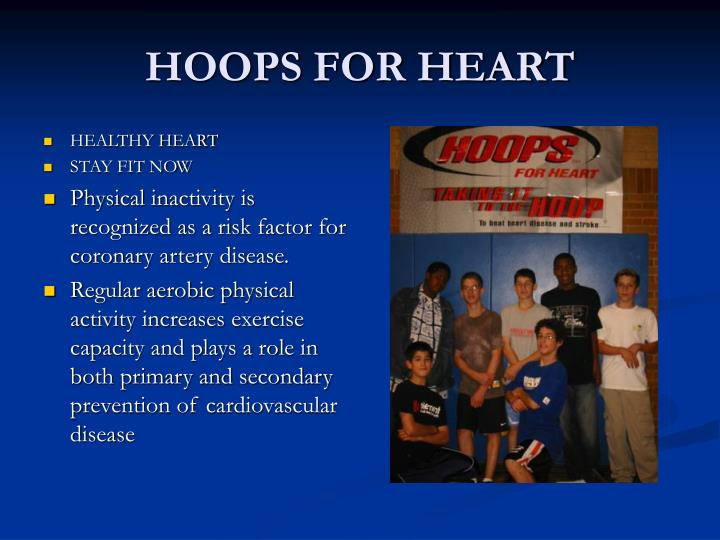 hoops for heart n.