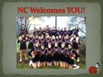nc welcomes you