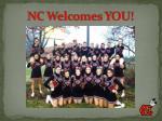 nc welcomes you