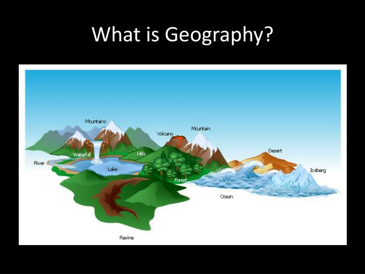 what is geography n.