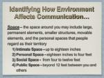 identifying how environment affects communication4