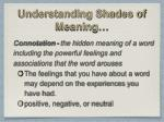understanding shades of meaning1