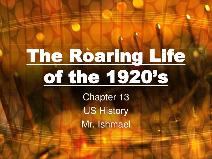 the roaring life of the 1920 s n.