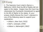 cr essay