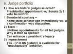 e judge portfolio