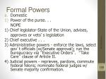 formal powers