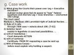 g case work