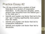 practice essay 2