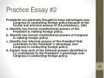 practice essay 22