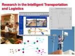 research in the intelligent transportation and logistics