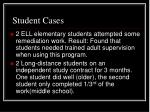 student cases