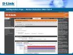 configuration page motion detection dns 726 4
