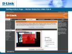 configuration page motion detection dns 726 41