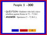 people 1 300