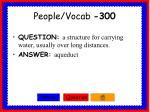 people vocab 300