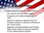economic policy17
