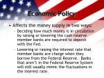 economic policy18