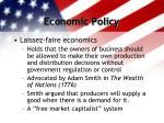 economic policy2