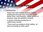 economic policy3