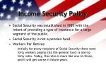 income security policy6