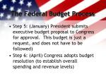 the federal budget process2