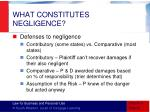 what constitutes negligence2