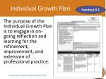 individual growth plan