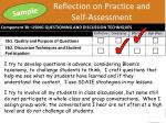 reflection on practice and self assessment2