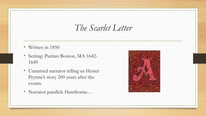 the scarlet letter individuality within a puritan society In the scarlet letter, author nathaniel hawthorne uses hester prynne, an unhappily married seamstress, and arthur dimmesdale, the local puritan clergyman, to prove that a community that forcefully suppresses the natural desires of an individual is dangerous, both to the individual and to the.