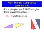 right triangle congruence shortcut 5