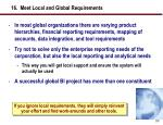 16 meet local and global requirements