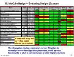 18 infocube design evaluating designs example