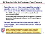 25 swiss army knife multiproviders and parallel processing