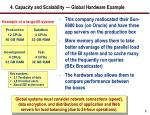 4 capacity and scalability global hardware example