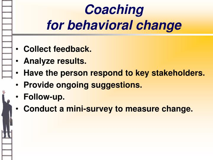 a personal account of behavioral change Personal growth goal setting 5 steps to changing any behavior the final stage of any process leading to behavior change is one extremely difficult to avoid.